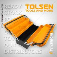Ящик для инструментов металлический (495X200X295 мм) Tolsen