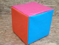 Кубик цветной мягкий 20*20 cm (2598)