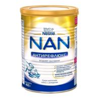 Nestle Nan Aнтирефлюкс молочная смесь, 0+ мес. 400г