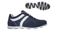 Кожанные кроссовки BELKELME (08332 - /049)