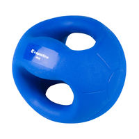 Медицинский мяч с ручками 4 кг 13488 (3006)
