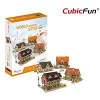 CubicFun пазл 3D World Style Germany