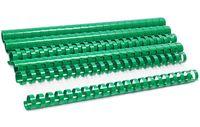 ARGO Пружина пластиковая ARGO A4, 16 мм, 10 штук, зеленая