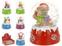 "купить Сувенир со снегом ""Шар"" Пингвин/Снеговик/Санта/Медведь в Кишинёве"