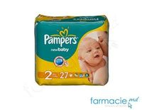 Подгузники PAMPERS New Baby Mini 2 N27 (3-6kg)