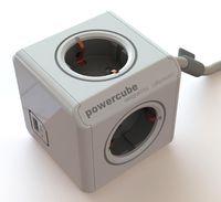 Адаптер электрический PowerCube Extended USB 3m cable DE
