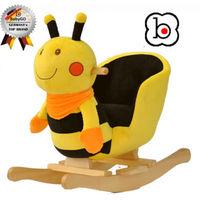 BabyGo качалка с музыкой Пчелка