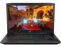 """NB ASUS 17.3"""" GL703VD (Core i7-7700HQ 8Gb 256Gb+1Tb Win 10) 17.3"""" IPS Full HD (1920x1080) Non-glare, Intel Core i7-7700HQ (4x Core, 2.8GHz - 3.8GHz, 6Mb), 8Gb (1x 8Gb) PC4-19200, 256Gb M.2 + 1Tb 7200rpm, GeForce GTX 1050 4Gb, HDMI, mDP, Gbit Ethernet, 802.11ac, Bluetooth, 1x USB 3.1 Type C, 3x USB 3.0, 1x USB 2.0, Card Reader, HD Webcam, Windows 10 Home RU, 4-cell 64 WHrs Battery, Illuminated Keyboard, 2.9kg, Black"""