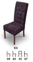 Деревянный стул K4