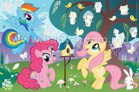 "BS 75116 Trefl Puzzle - ""35 Plus"" - stickers / My Lttle Pony"