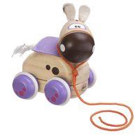 Chicco Jucărie din lemn Pony, 12+ (51300)