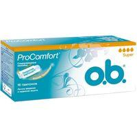 O.B. тампоны Pro Comfort Super, 16 шт
