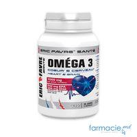 Omega 3 CARDIO 1000mg 45% N60+Vit. E 10mg (1 caps/zi)