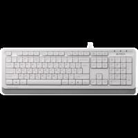 Клавиатура A4Tech FK10 White Grey