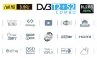 """купить REDLINE LCD TV 43"""" Full HD Combo DVB S2+T2+C HD - H265 - K200 в Кишинёве"""
