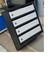 cumpără Cutie poştală mare cu 4 secţii 390x200x550mm, ЯПИ-04M în Chișinău