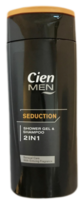 Шампунь и гель для душа 2в1 Cien Men Seduction 300 мл