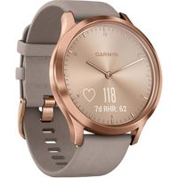 Фитнес-трекер Garmin Vivomove HR Rose-Gold, Grey Suede Band