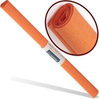 INTERDRUK Бумага креповая INTERDRUK Classic 200x50 см т. оранжевая