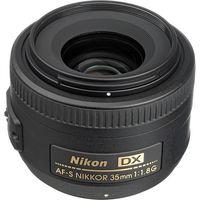 Nikkor 35 mm f/1.8 G DX AF-S, Fixed Focus Lenses