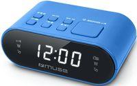 Часы-будильник MUSE M-10 BLUE