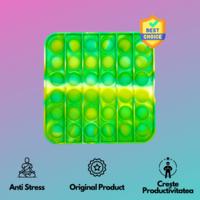 Pop It - Pătrat Mix de Culori TikTok BEST SELLER