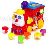 Huile Toys 556 Поезд  с музыкой и светом