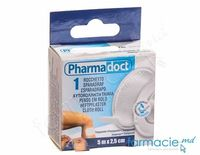 "Emplastru banda 2,5cm x5m ""Pharma Doct"" transparent (120214)"