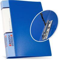 Birotic Express Папка с прижимом BIROTIC Express A4 пластиковая синяя