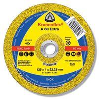 EXTRA/A60 EX/GER/125x1x22.23 круг отрезной по металлу KLINGSPOR