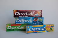 DENTAL Anti-Paradontit Fr.Breath 100ml,DENTAL Caries Prot&Fresh 100ml,DENTAL White&Clean 100ml,Pasta de dinti DENTAL White&7Herbs protec.100ml