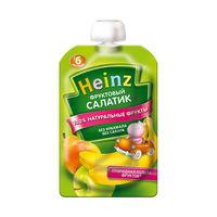 Heinz пюре фруктовый салатик, 6 мес, 100 гр
