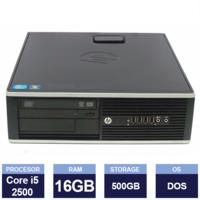 Настольный компьютер HP Compaq 8200 Elite SFF(Intel Core i5 2500 3.30GHz | 16 GB | 500 GB HDD | Black)