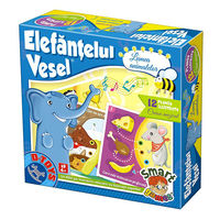 Настольная игра Elefantelul vesel - lumea animalelor, код 41198