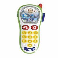 Chicco Jucărie Telefon cu vibrație și camera foto, 6+ (60067)