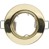 купить (A) Встраиваемые светильники для ламп MR16 с цоколем GU5.3 (золото) в Кишинёве