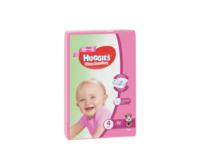 Подгузники для девочек Huggies Ultra Comfort Giga 4 (8-14 кг), 80 шт.