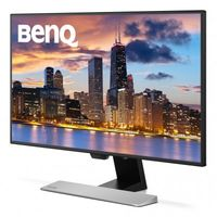 """27.0"""" BenQ """"EW2770QZ"""", Black (IPS, 2560x1440, 5ms, 350cd, LED20M:1, DP+HDMI, Speakers) (27.0"""" AHVA (IPS) LED, 2560x1440 WQHD, 0.233mm, 5ms (GtG), 350 cd/m², DCR 20Mln:1 (1000:1), 100% sRGB, 1.07 Billion, 178°/178° @CR>10, HDMI x2 + DisplayPort, Stereo Audio-In, Headphone-Out, Built-in speakers, Built-in PSU, Fixed stand Tilt -5/+20°, VESA Mount 100x100, Flicker-free, Low Blue Light Mode, Brightness Intelligence Plus Technology , Cinema mode, Black/Silver)"""