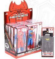 OP М12.76 Фигуры героев Spiderman, Batman, Superman ( 3 вида)