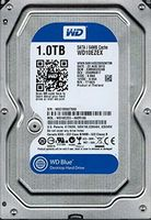 """Жесткий диск 3.5"""" HDD 1.0TB  Western Digital WD10EZEX Caviar® Blue™, 7200rpm, 64MB, SATAIII"""
