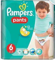 Трусики мальчик/девочка Pampers Pants 6 (16+кг. ) 19 шт.