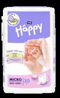 Подгузники для недоношенных и маловесных детей Bella Happy Micro (600-1200 гр)