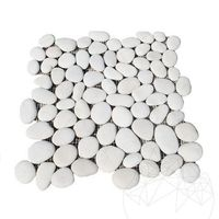 Mozaic Pebble White Mat
