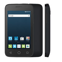ALCATEL 4045D DUAL  LTE, чёрный
