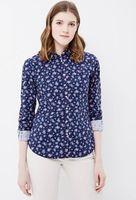 Блуза SPRINGFIELD Синий в цветочек