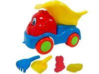 Набор игрушек для песка в машине малый 6 ед, 11X22cm