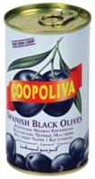 COOPOLIVA  Маслины с косточкой,калибр 180/220. Вес 225 гр. Испания