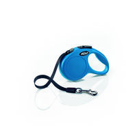 Flexi Поводок-рулетка Classic S Tape 5m Blue (15kg)