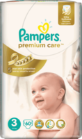 PAMPERS Premium Care Nr3, белый