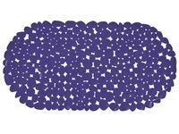 Коврик для ванны 39X99cm Pebbles овал, синий